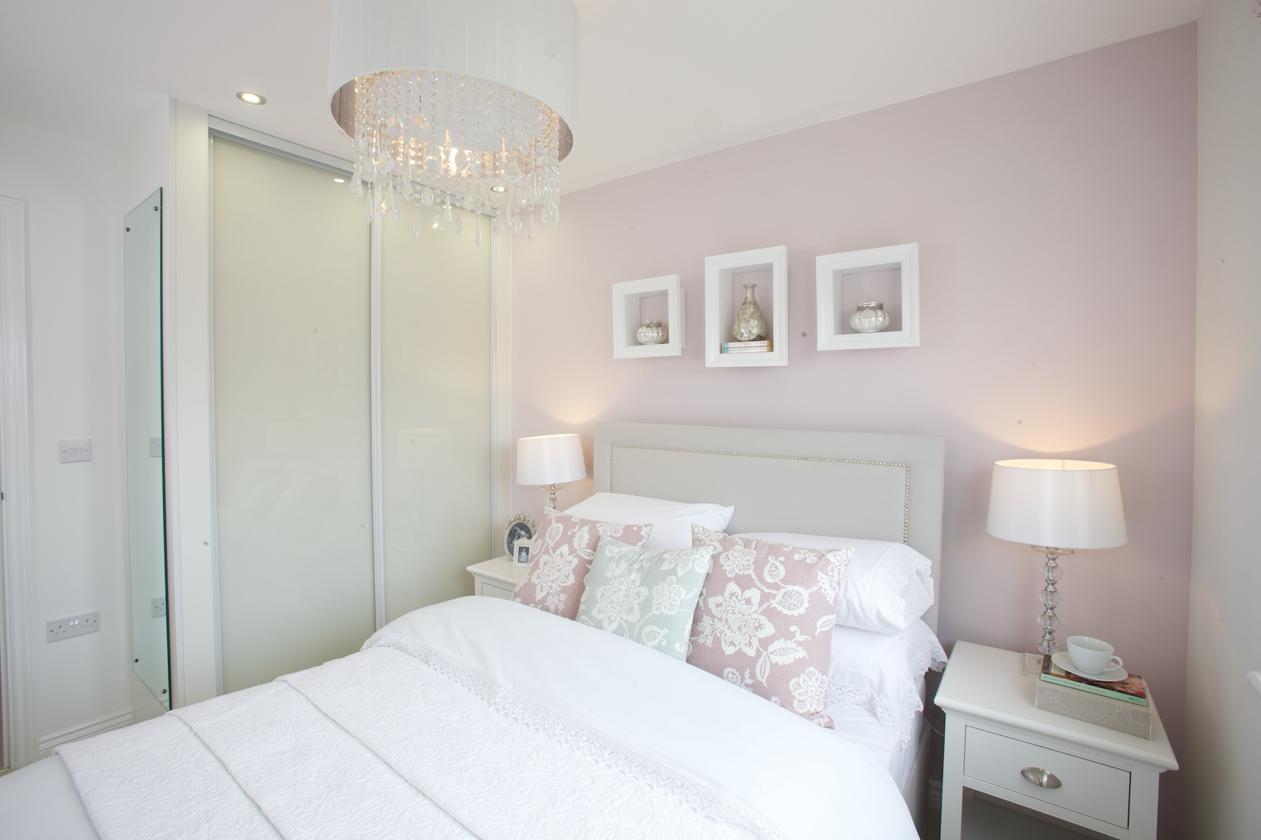 Kings Copse show home - Bedroom